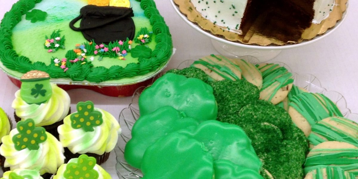 Saint Patrick's Day Featured Baked Goods