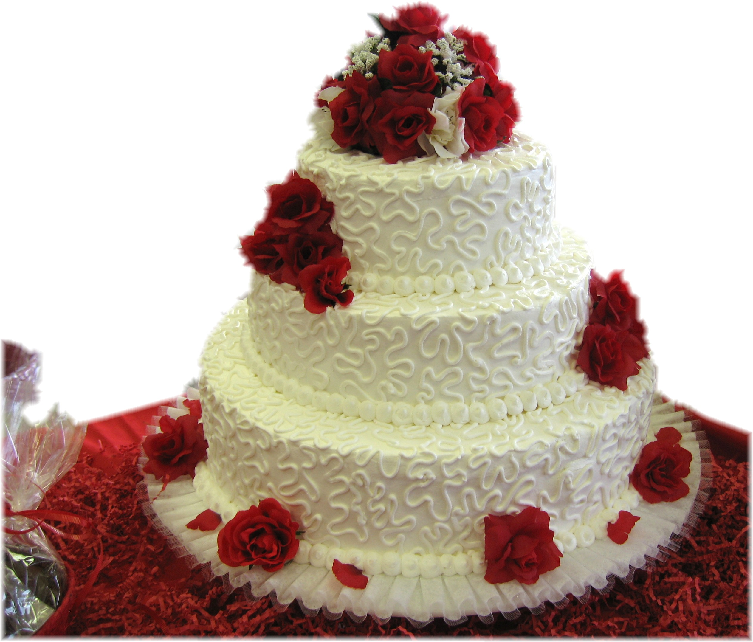 1 5 2 Valentine Wedding Cake