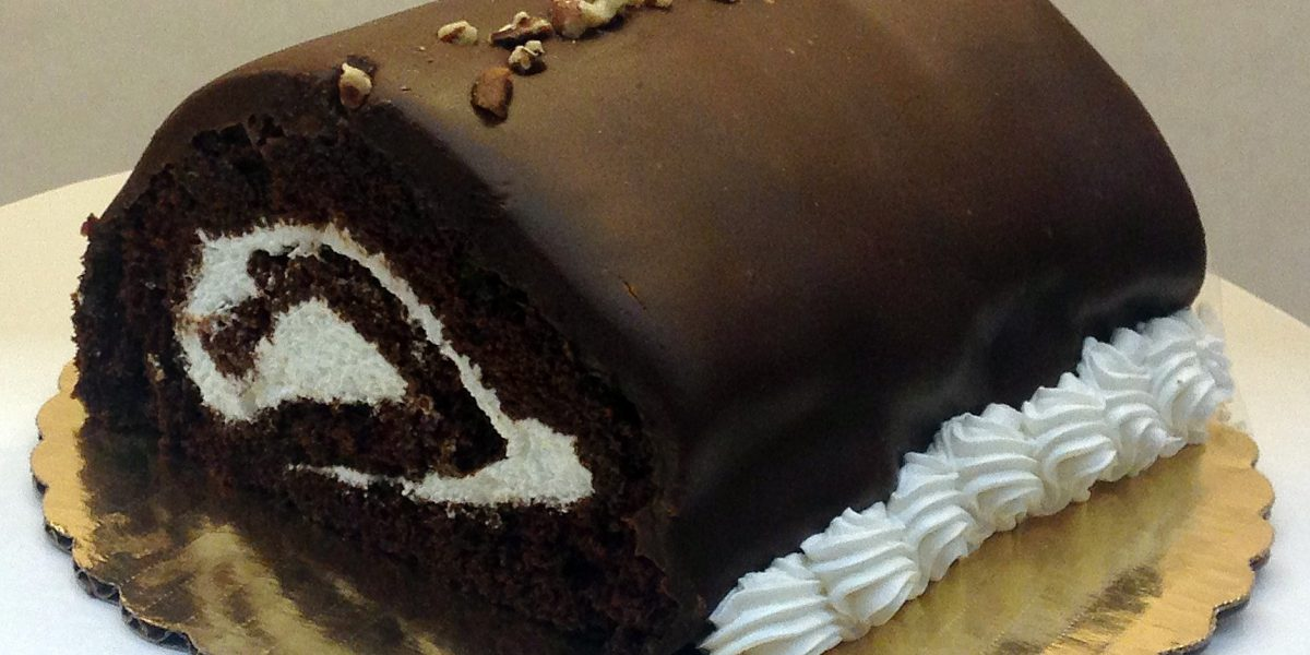 Chocolate Log Cake