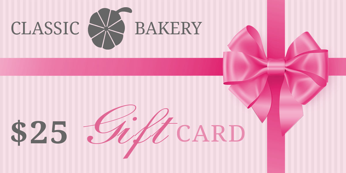 Classic Bakery Gift Cards