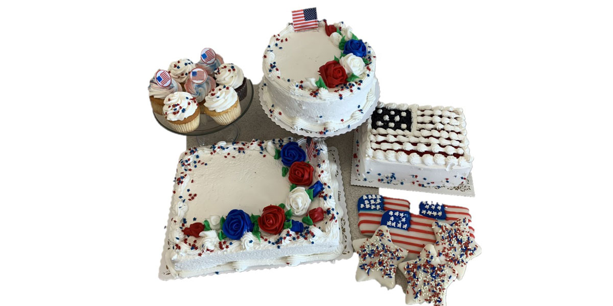 July 4th Baked Goods
