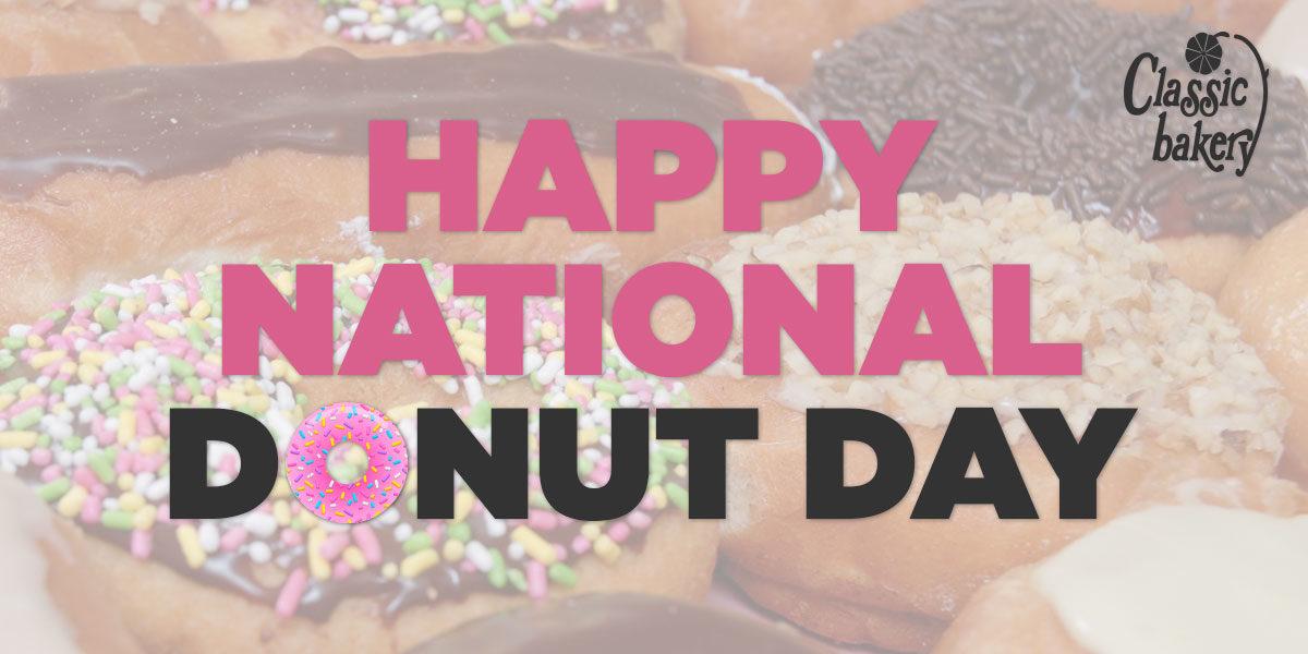 Happy National Donut Day